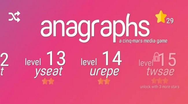 Anagraphs – Chứng minh bạn thực sự là bậc thầy ngôn ngữ và đảo chữ