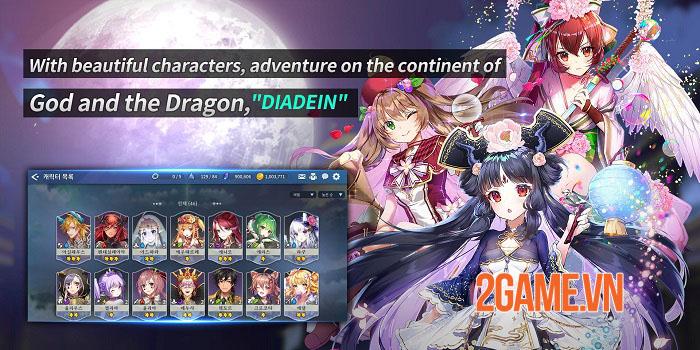 Diadein Mobile: Xuyên qua từng bầu trời khác nhau và liên kết các vũ trụ 1