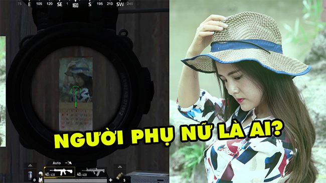 Sự thật ít ai biết về bí ẩn bức hình người phụ nữ ở Sanhok của PUBG
