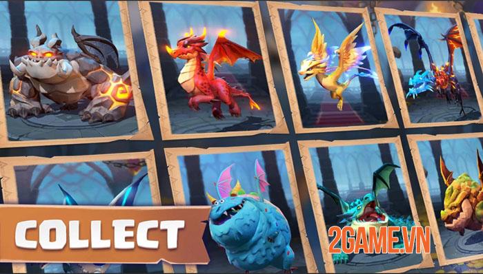 Dragon Arise - Game chiến thuật huấn luyện rồng để chinh phục thế giới 2