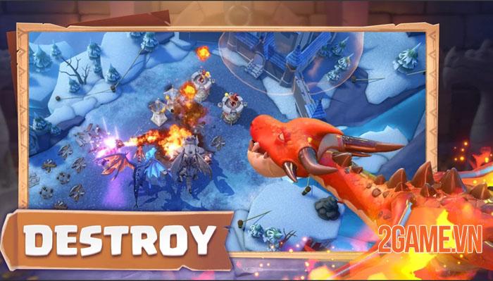 Dragon Arise - Game chiến thuật huấn luyện rồng để chinh phục thế giới 3