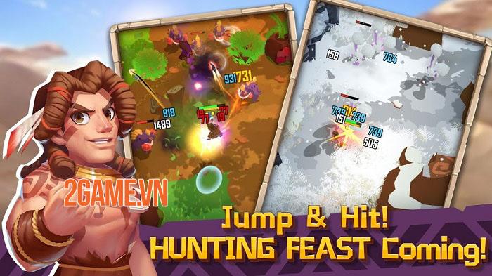 Hunter Legend: Rise of Clans - Khám phá thế giới nguyên thủy và thách thức quái thú 2