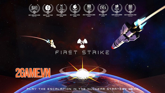 First Strike: Classic - Game chiến thuật chiến tranh kích thích tư duy 0