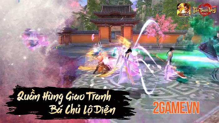 Tân Thiên Long Mobile đón sinh nhật cùng giải đấu liên server Quần Long Tranh Bá 2