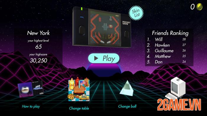 Infinity Pinball - Đem trải nghiệm cổ điển đến với game thủ mobile 1