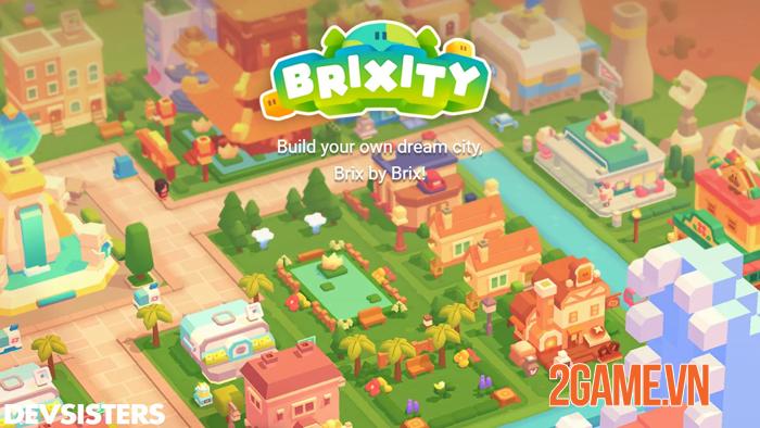 Brixity - Chắp cánh trí tưởng tượng game thủ bay xa với lối chơi xây dựng 2