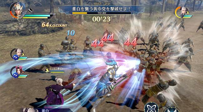 Dynasty Warriors Mobile chính thức ra mắt khiến game thủ Việt sốt rần rần