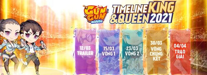 Gun Gun Mobile công bố sự kiện King&Queen 2021, tặng 1 cặp PS5 cho người chiến thắng! 5