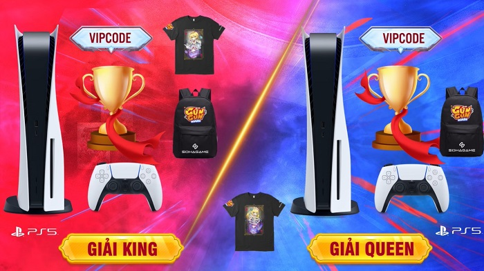 Gun Gun Mobile công bố sự kiện King&Queen 2021, tặng 1 cặp PS5 cho người chiến thắng! 6