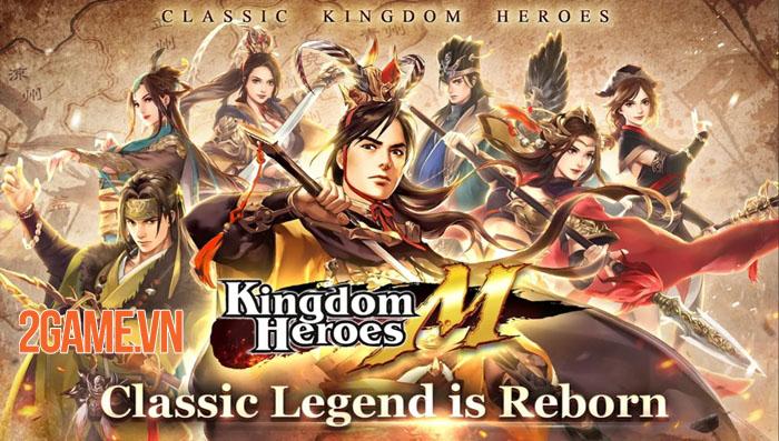 Kingdom Heroes M - Phiên bản mobile của game PC cổ điển Kingdom Heroes Online 0