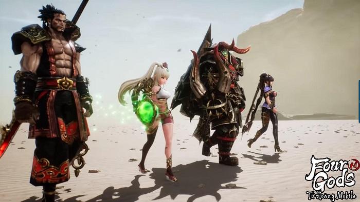 Bom tấn MMORPG xứ Hàn – Tứ Hoàng Mobile nóng đến 'tan chảy' làng game Việt 0