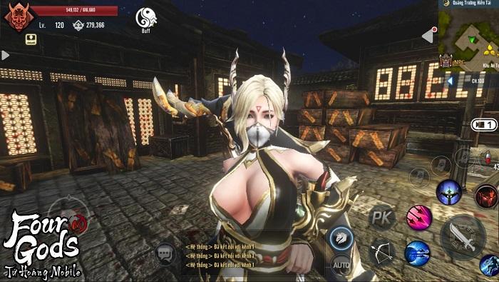 Bom tấn MMORPG xứ Hàn – Tứ Hoàng Mobile nóng đến 'tan chảy' làng game Việt 4