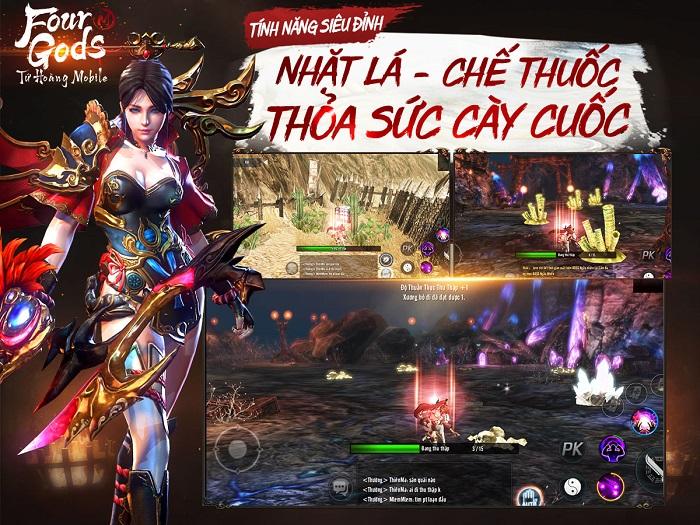 Bom tấn MMORPG xứ Hàn – Tứ Hoàng Mobile nóng đến 'tan chảy' làng game Việt 5