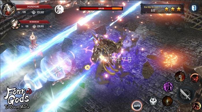 Bom tấn MMORPG xứ Hàn – Tứ Hoàng Mobile nóng đến 'tan chảy' làng game Việt 8