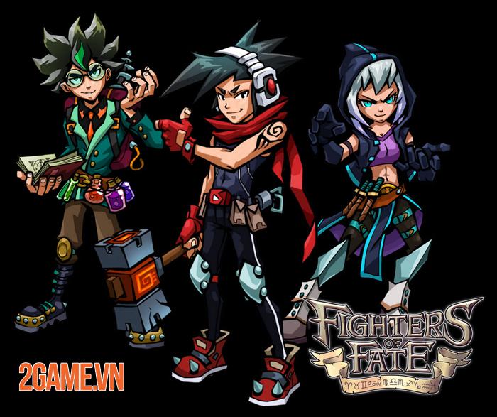 Fighters of Fate - Game đối kháng với lối chơi thẻ bài như Yugi Oh 2