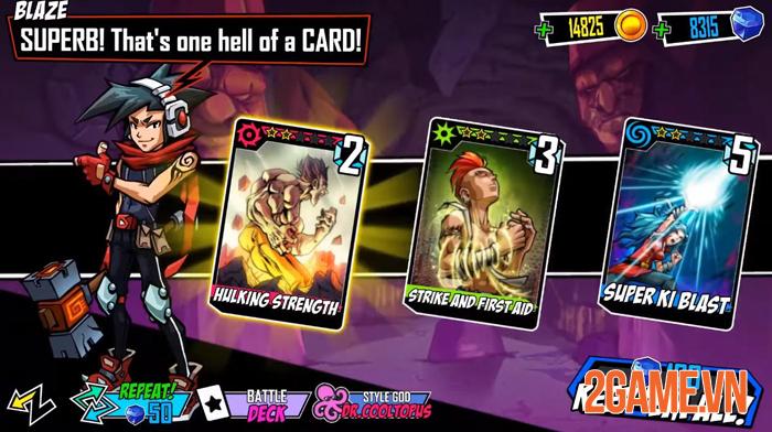Fighters of Fate - Game đối kháng với lối chơi thẻ bài như Yugi Oh 1