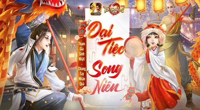 Cộng đồng Tân Thiên Long Mobile chung vui cùng chuỗi sự kiện sinh nhật khủng