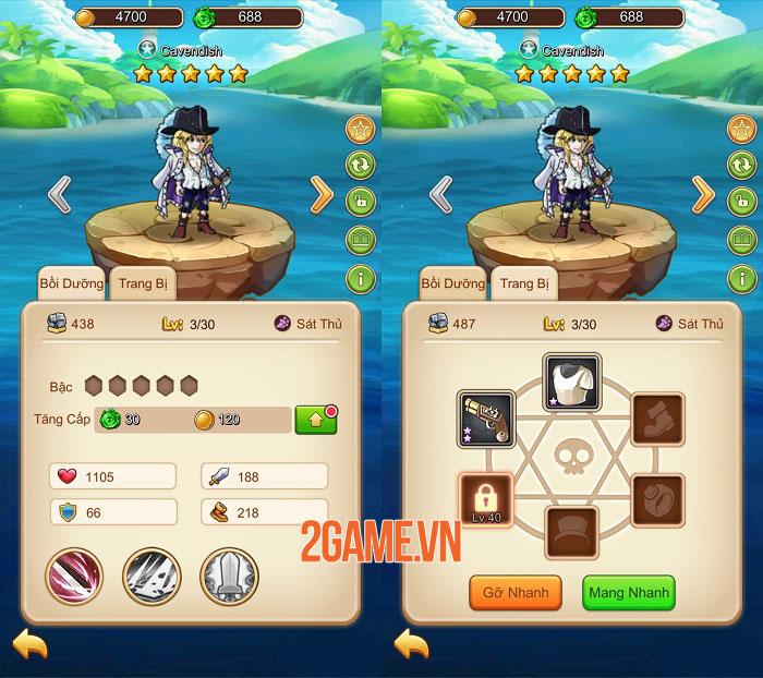 Đại Hải Trình Mobile - Hành trình khám phá thế giới hải tặc chân thực và tiện lợi 2