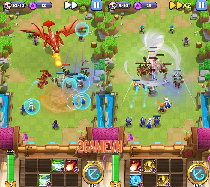 Merger Legion - Game thủ tháp với các phép bổ trợ độc đáo 1