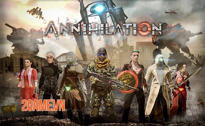 Annihilation Mobile - Cuộc chiến Battle Royale 60 người với nhiều bản đồ thú vị 3