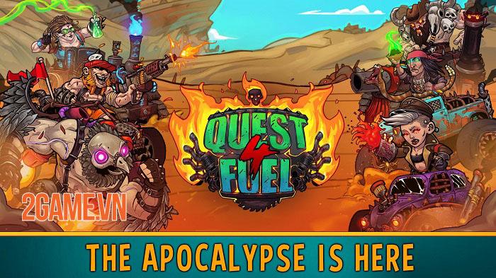 Quest 4 Fuel - Game Idle RPG lấy cảm hứng từ Mad Max ra mắt trên mobile 0