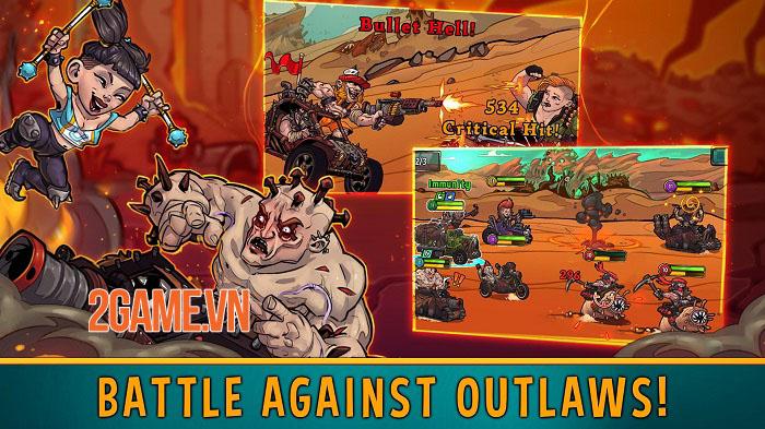 Quest 4 Fuel - Game Idle RPG lấy cảm hứng từ Mad Max ra mắt trên mobile 4