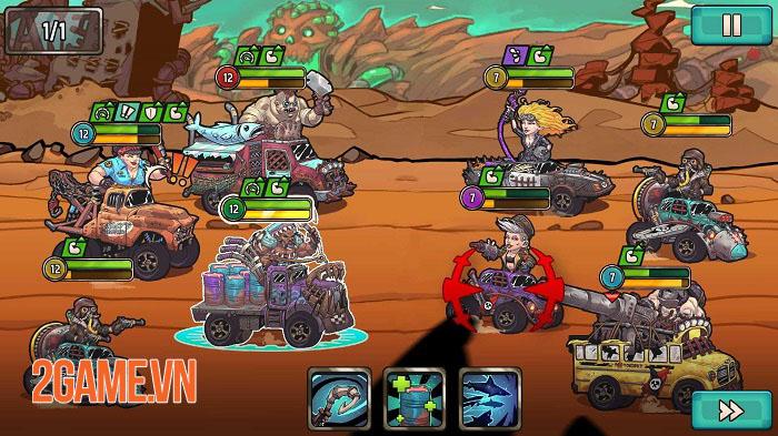 Quest 4 Fuel - Game Idle RPG lấy cảm hứng từ Mad Max ra mắt trên mobile 2