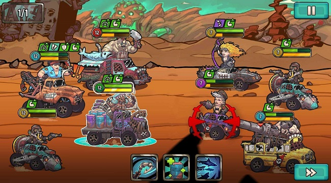 Quest 4 Fuel – Game Idle RPG lấy cảm hứng từ Mad Max ra mắt trên mobile