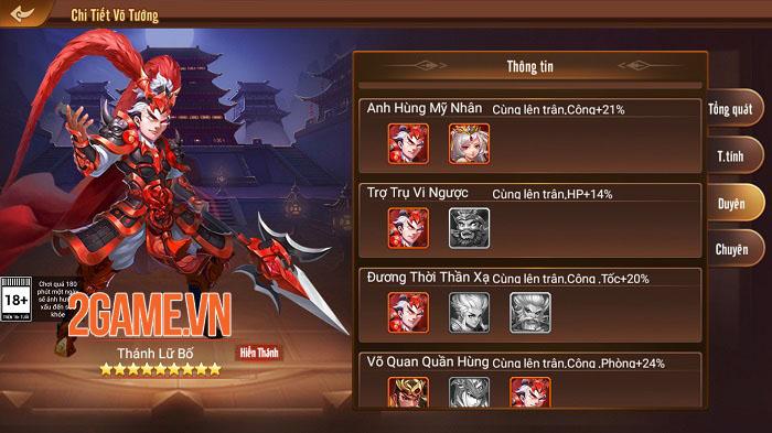 Tạo hình danh tướng Tam Quốc tinh tế trong game chiến thuật Long Tướng 3Q 3