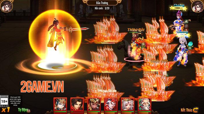 Tạo hình danh tướng Tam Quốc tinh tế trong game chiến thuật Long Tướng 3Q 5