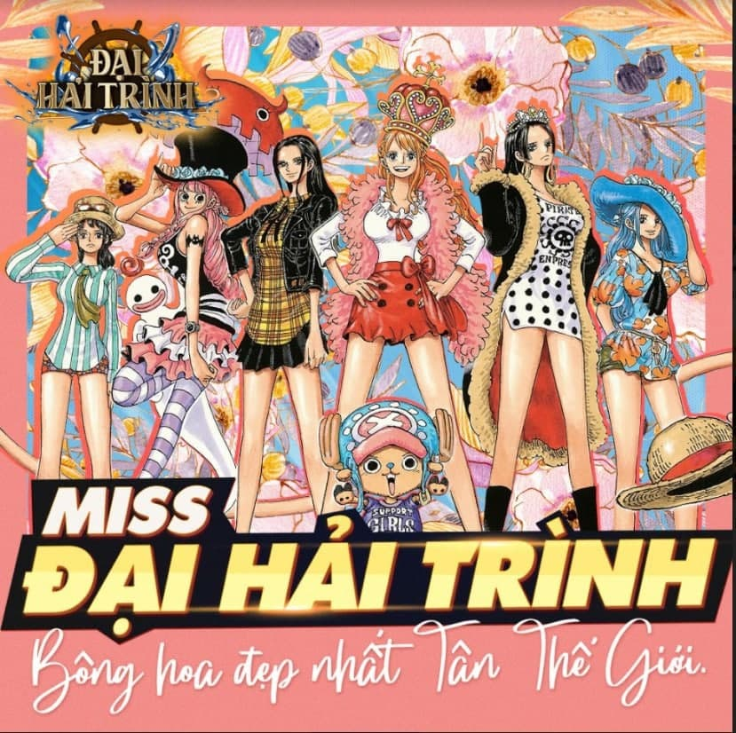 Miss Đại Hải Trình: hình ảnh các nữ hải tặc xinh đẹp khiến người xem ngây ngất! 0