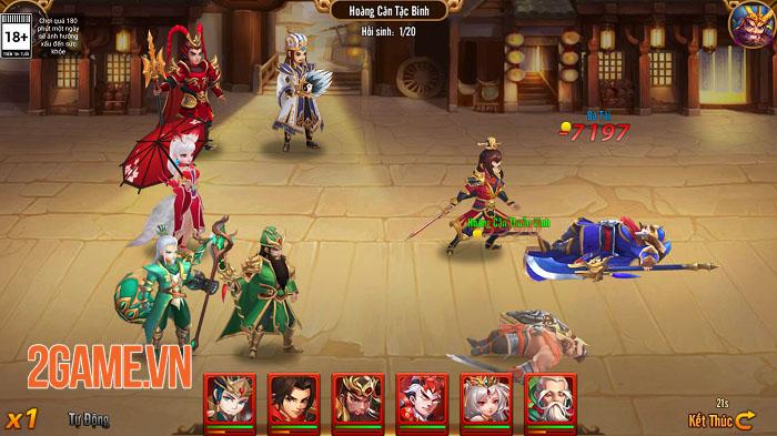 Long Tướng 3Q: Đổ xúc xắc thử vận may kiếm quà lớn với tính năng Xông Thiên Quan 3