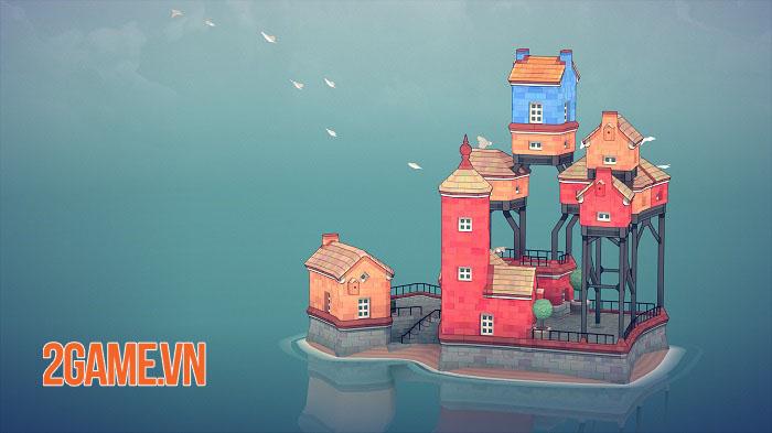 Townscaper - Game xây dựng thành phố dễ thương ra mắt mobile cuối năm nay 0