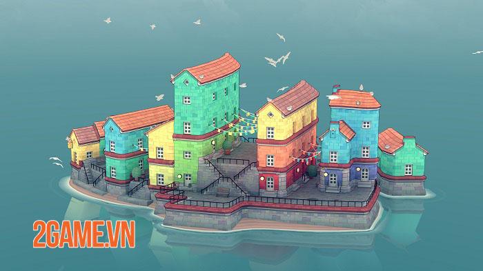 Townscaper - Game xây dựng thành phố dễ thương ra mắt mobile cuối năm nay 1
