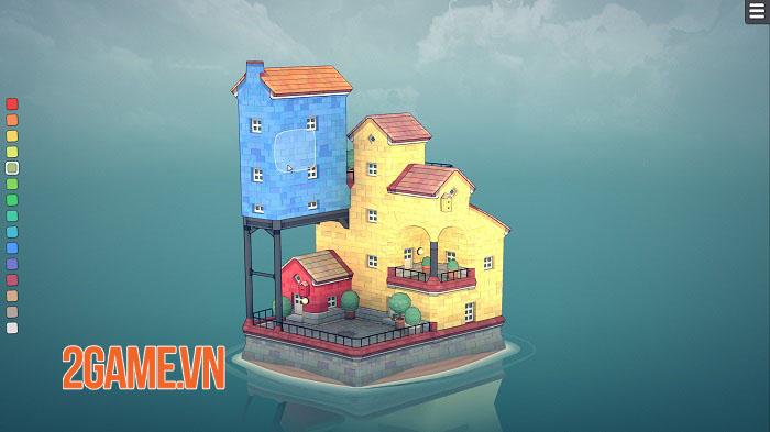 Townscaper - Game xây dựng thành phố dễ thương ra mắt mobile cuối năm nay 2