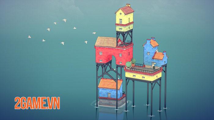 Townscaper - Game xây dựng thành phố dễ thương ra mắt mobile cuối năm nay 3