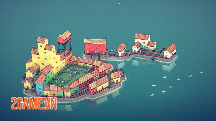 Townscaper - Game xây dựng thành phố dễ thương ra mắt mobile cuối năm nay 4
