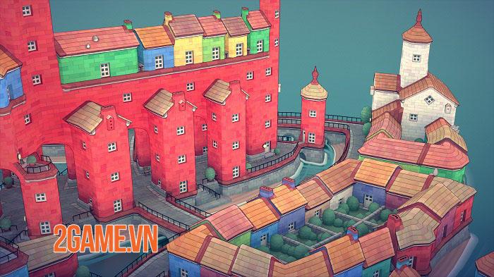 Townscaper - Game xây dựng thành phố dễ thương ra mắt mobile cuối năm nay 5