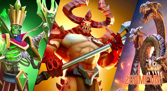 War Lords - Game chiến thuật đỉnh cao mở đăng ký trước bản quốc tế 1