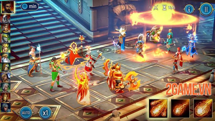 War Lords - Game chiến thuật đỉnh cao mở đăng ký trước bản quốc tế 0