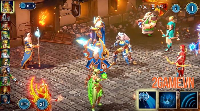 War Lords - Game chiến thuật đỉnh cao mở đăng ký trước bản quốc tế 3