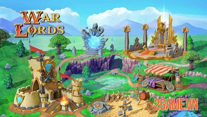 War Lords - Game chiến thuật đỉnh cao mở đăng ký trước bản quốc tế 4