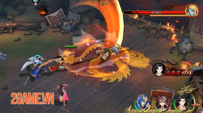 Tân OMG3Q - Hậu bản của game thẻ tướng OMG 3Q cập bến làng game Việt 0