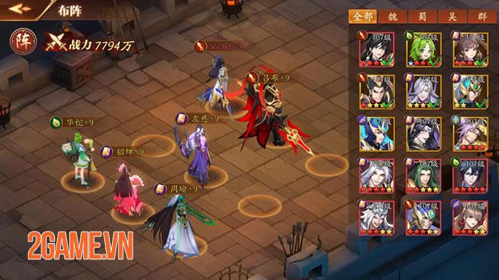 Tân OMG3Q - Hậu bản của game thẻ tướng OMG 3Q cập bến làng game Việt 4