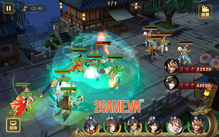 Tân OMG3Q - Hậu bản của game thẻ tướng OMG 3Q cập bến làng game Việt 1