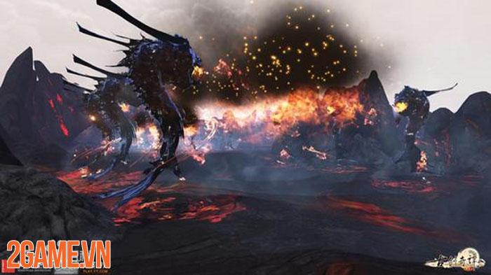 Điểm khác biệt của Cổ Kiếm Kỳ Đàm Online so với game MMORPG thông thường 1