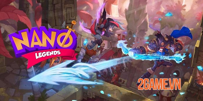 Nano Legends - Game chiến thuật 3D phòng thủ tháp hỗn chiến đáng chơi 0