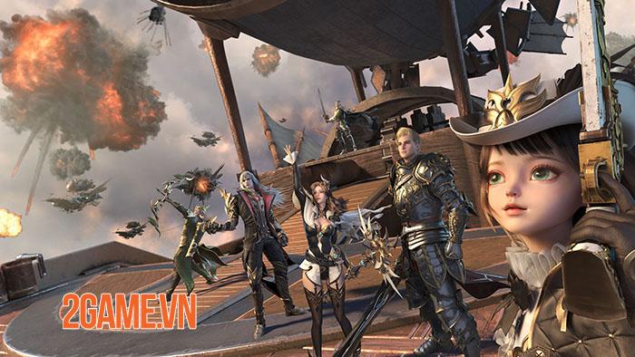 Siêu phẩm MMO Forsaken World: Thần Ma Đại Lục sẽ sớm ra mắt game thủ Việt 0