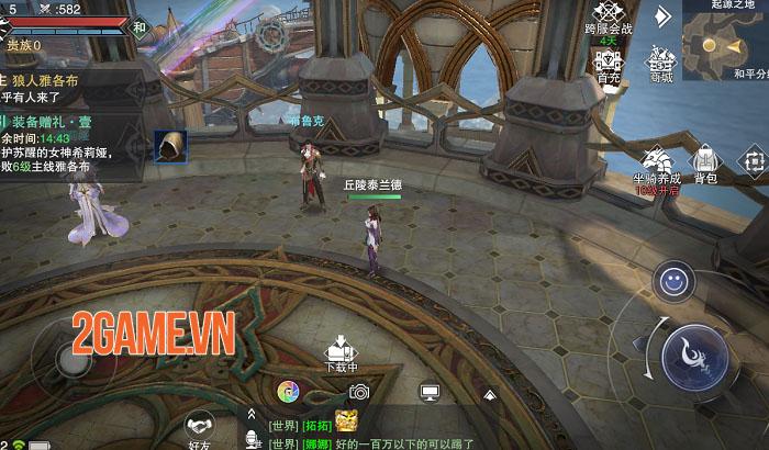 Siêu phẩm MMO Forsaken World: Thần Ma Đại Lục sẽ sớm ra mắt game thủ Việt 1