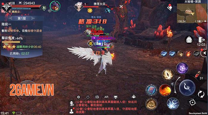 Siêu phẩm MMO Forsaken World: Thần Ma Đại Lục sẽ sớm ra mắt game thủ Việt 5